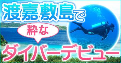 渡嘉敷島でダイビングライセンス取得